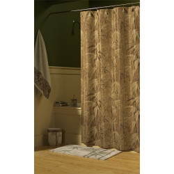 Croscill Samoa Fabric Shower Curtain