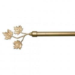triple-leaf-antique-gold-adjustable-metal-rods