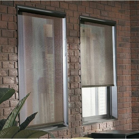 Solar Mesh Roller Shades And Screens Curtain Drapery Com