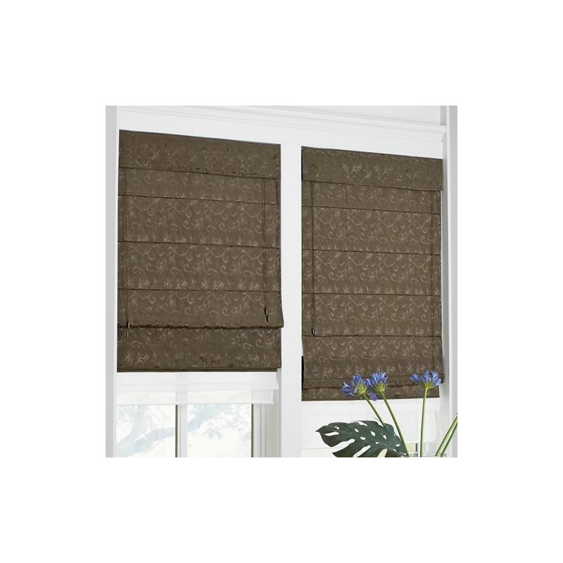 Double Roman Shade Curtain Drapery Com