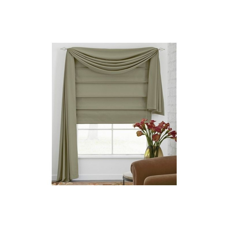 how to clean roman shades fabric