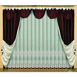 Olimpia curtain set