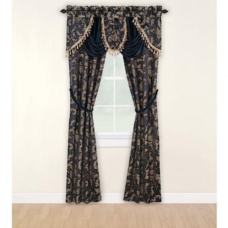 Mainstays Cheri 5 Piece Window Set Curtain Drapery Com