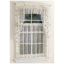 Victoria Classics Vintage Window Curtains