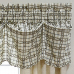 Miller Collection Highlander Tuck Pattern Valance