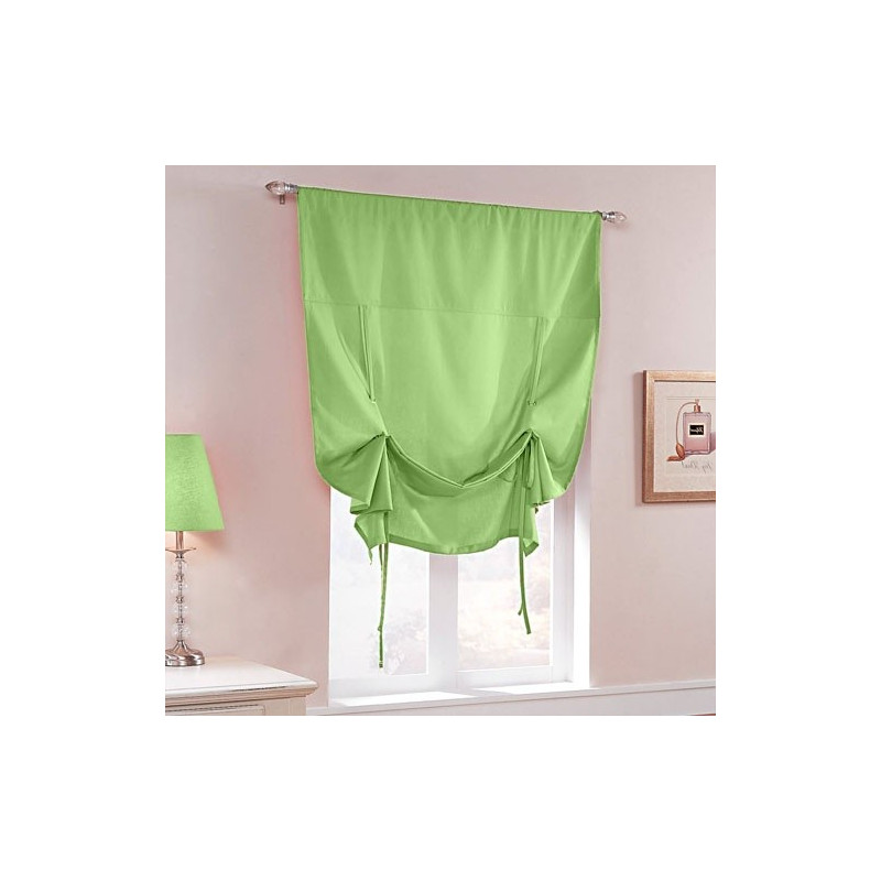 Candy Tie Up Shade With Grommets Curtain Drapery Com