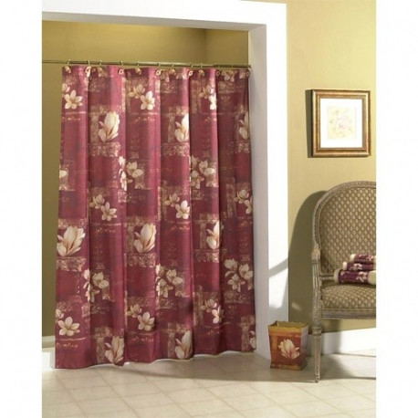 Croscill Magnolia Fabric Shower Curtain Curtain Drapery Com