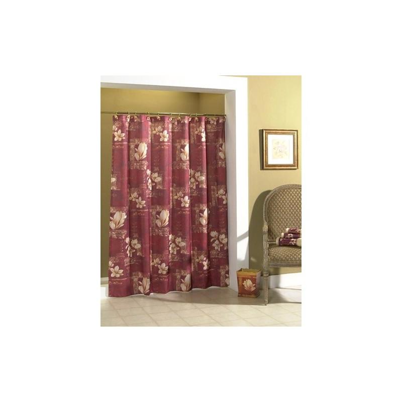 Croscill Magnolia Fabric Shower Curtain Curtain Drapery Com