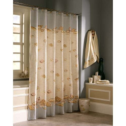Croscil Beach Haven Fabric Shower Curtain