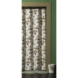Croscill Ginko Fabric Shower Curtain