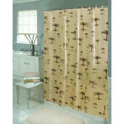 Palm Tree Eva Vinyl Shower Curtain