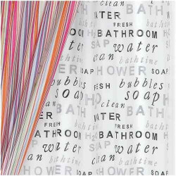 H2O Vinyl Shower Curtain