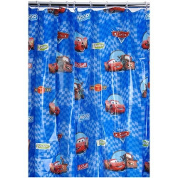 Cars Winner Circle Shower Curtain
