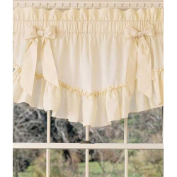 Victorian Ruffles Tapered Valance