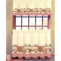 Chefs Kitchen Curtain
