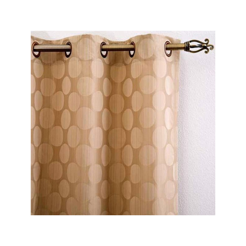 Matrix Polka Jacquard Panels Curtain Drapery Com