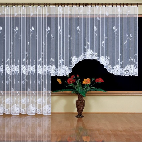 michalina a set of made to measure net curtains. Black Bedroom Furniture Sets. Home Design Ideas
