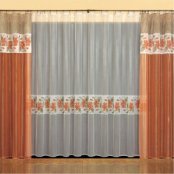 Nasturcje curtain set