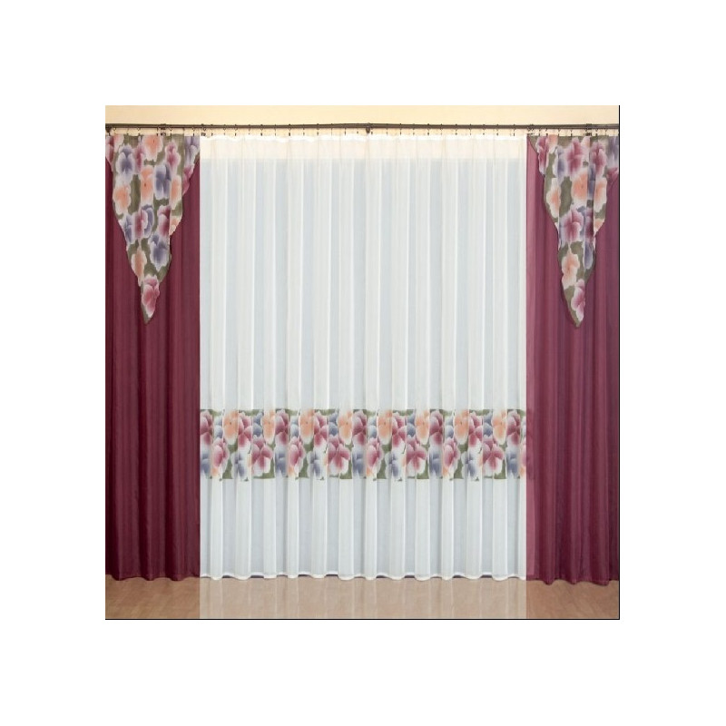 Bratki Curtain Set Curtain Drapery Com