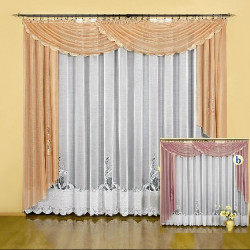 Pytia curtain set