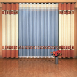 Kleopatra curtain set