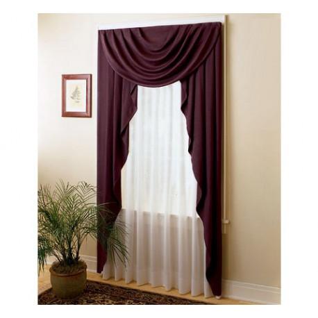 Semi Sheer Batiste Draperies Curtain Drapery Com