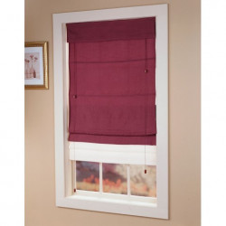 Two-in-One Roman Shades