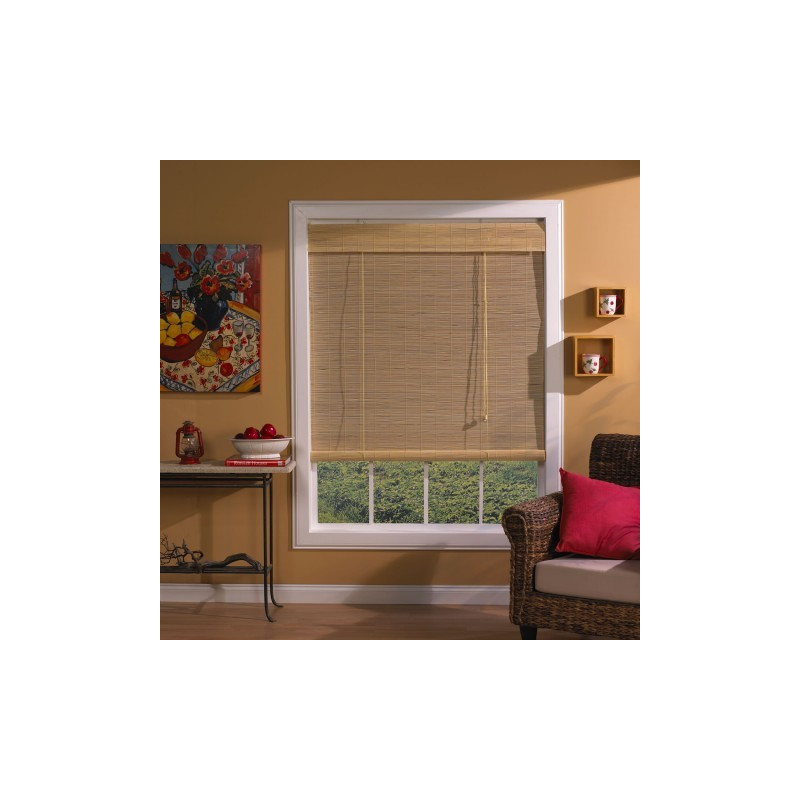 Natural Imperial Matchstick Blinds Curtain Drapery Com
