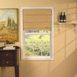 Avalon Bamboo Roman Shades