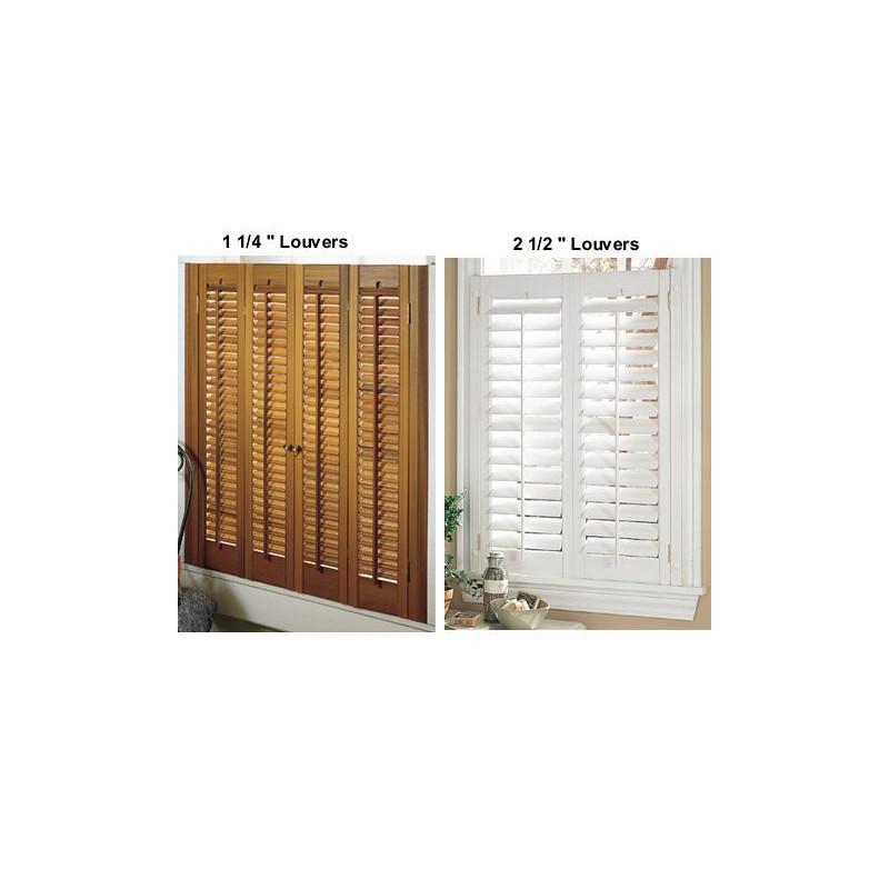 Easy Care Wood Look Vinyl Shutters Curtain Drapery Com