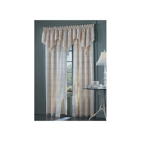 Lalique Double Layer Tailored Panel Curtain Drapery Com
