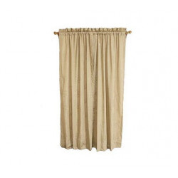 Veratex Waterlily Rod Pocket Curtain