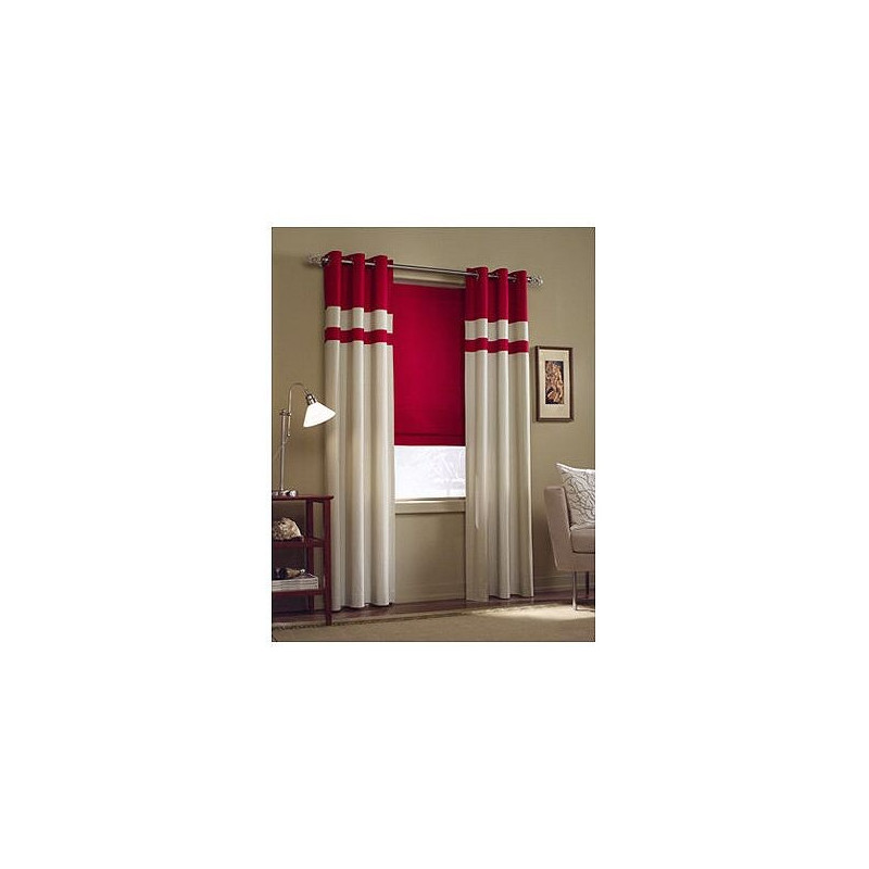 Nantucket Solid Cotton Curtain Soft Tie Up Shade Curtain
