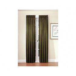 Pierce Iridescent Silk-Like Curtain Panel