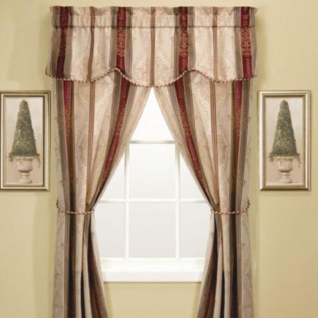 verona-stripe-5-piece-window-set---autumn