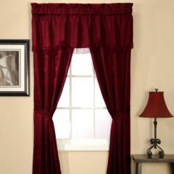 classic-stripe-5-piece-window-set---burgundy