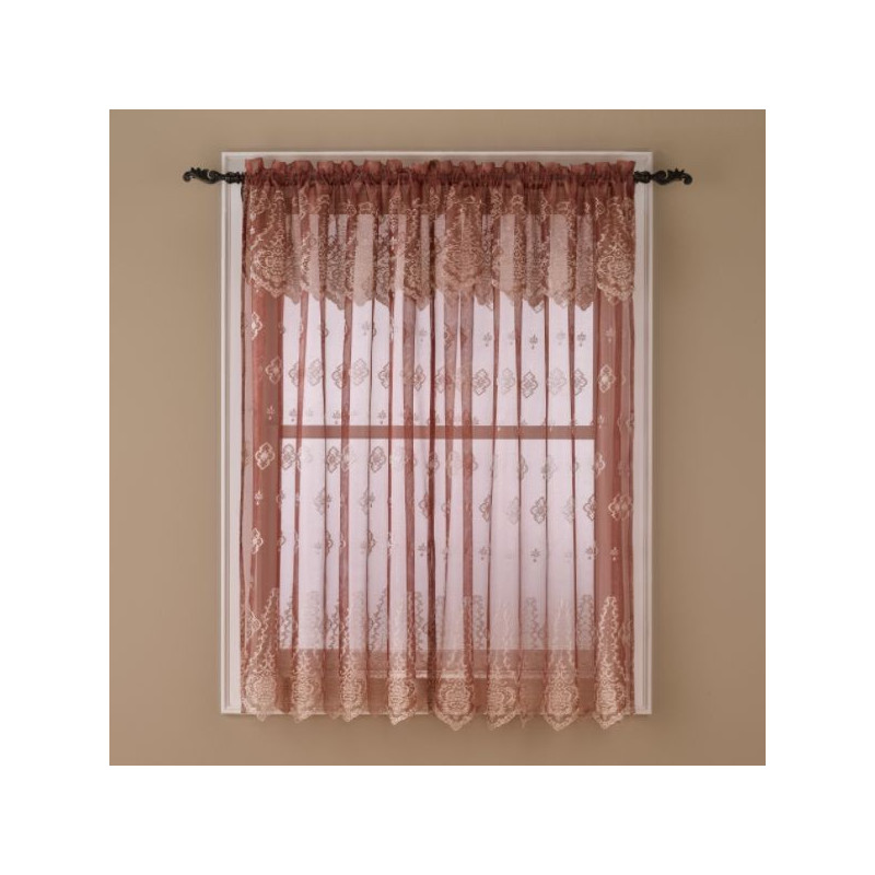 Sherry Lace Sheer Window Panels Curtain Drapery Com