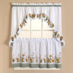 sunflower-tier-curtains-set