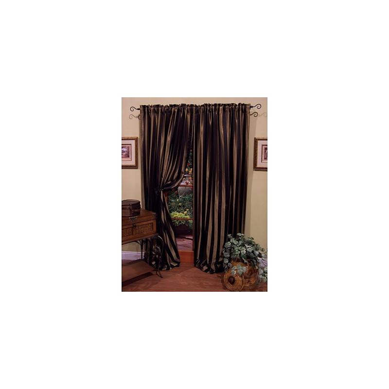 Regal Stripe Curtain Panel Curtain Drapery Com