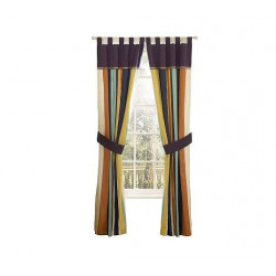 Beverly Hills Polo Club Harbor 4 Piece Drapery Set