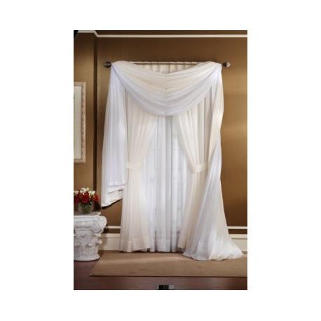 Capri Batiste Drape Curtain Drapery Com