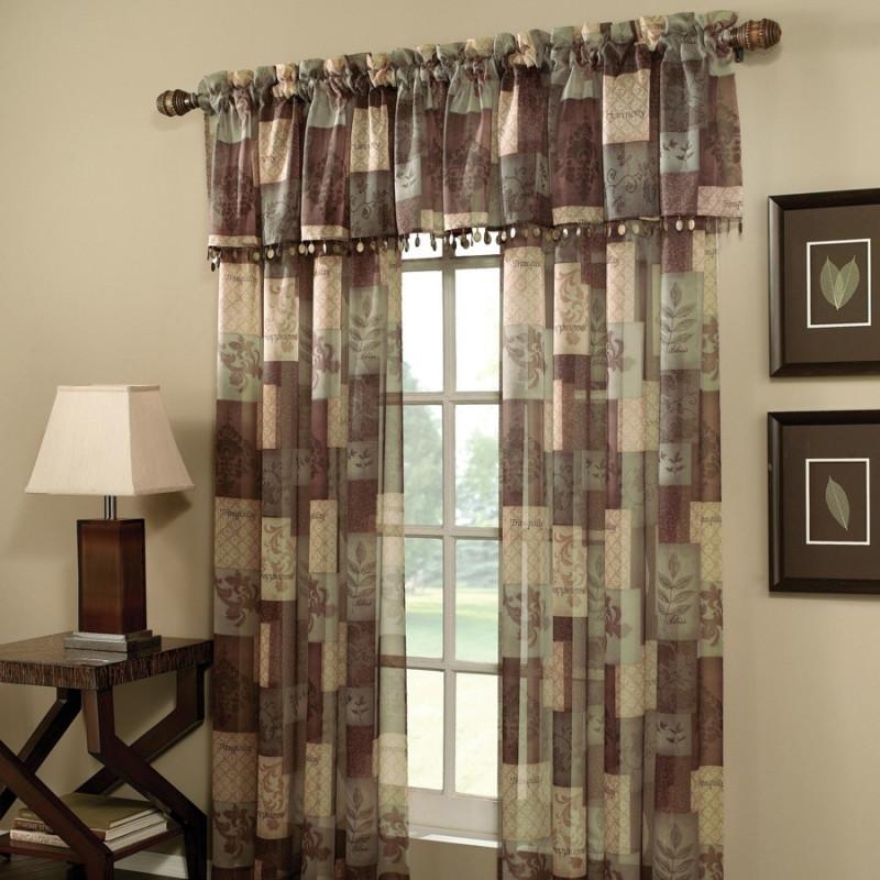 Eden Sage Window Sheer Panel Curtain Drapery Com