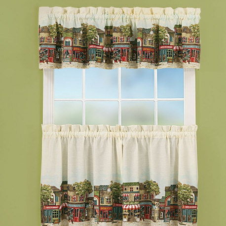 French Cafe Kitchen Curtains Curtain Draperycom