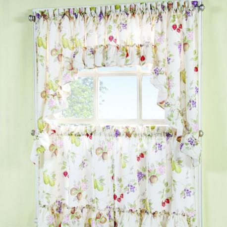 Summer Fruit Kitchen Curtains - Curtain-Drapery.com