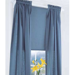Weaver's Cloth Rod Pocket Curtains
