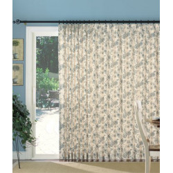 Andrea Insulated Pinch Pleat Slider Panel