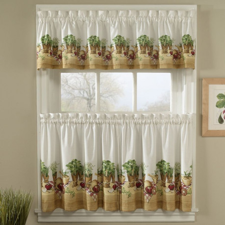 Herb Kitchen Curtains