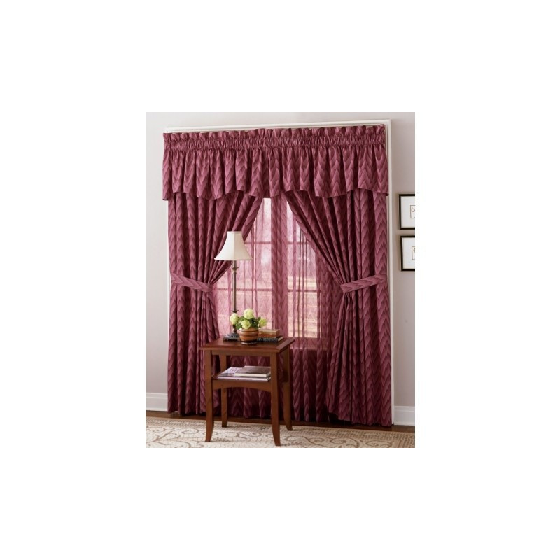 Pinch Pleated Thermal Insulated Drapes: Aztec Insulated Pinch-Pleat Draperies