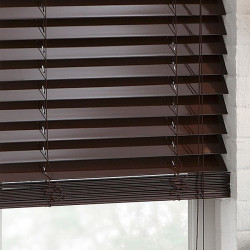 """High Gloss 2"""" Fauxwood Blinds by Studio"""