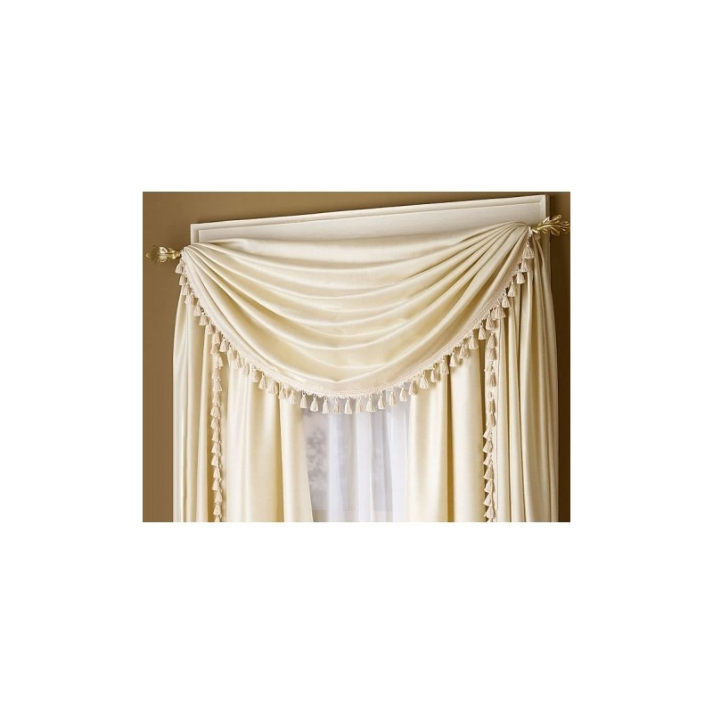 Royal Antique Satin Tassel Scarf Curtain Draperycom